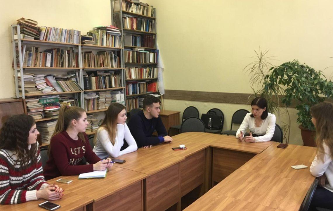 Встреча с учениками Самарской областной Школы права